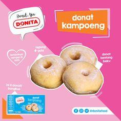 Donita Donat Filling. Donat Kentang Beku Original. Donat Kampoeng. Donat Bolong.
