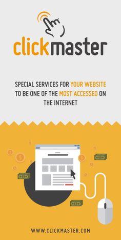 Usa ClickMaster para hacer la publicidad online de tu negocio.Llegarás a mas de 2 millones de personas en todo el mundo, en el recuadro Sponsor coloca: josehoms