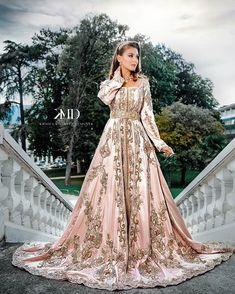 Caftan Morrocan Wedding Dress, Wedding Night Dress, Morrocan Dress, Caftan Dress, Silk Dress, The Dress, Pretty Dresses, Beautiful Dresses, Lace Dress Styles