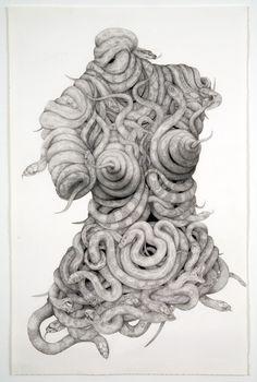 Aurel Schmidt - Illustrator - the Fashion Spot