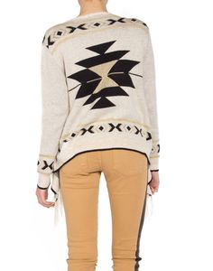 Gold Dusted Tribal Cardigan (I love the pants)