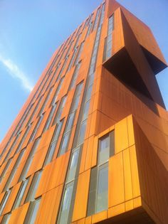 Broadcasting Tower, student accommodation in Leeds... very posh!!