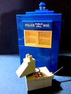 K-9 & TARDIS | Flickr - Photo Sharing!