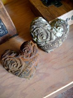 So ornate and textural. Mudstuff on Etsy.