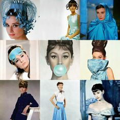Audrey in her movies