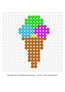 Theme Food and Beverage – Beaded shelf ~ Juf Milou - 6 Summer Holiday Activities, Summer Holiday Outfits, Hama Beads Patterns, Beading Patterns, Jaba, Art Projects, Diy And Crafts, Beverages, Cross Stitch