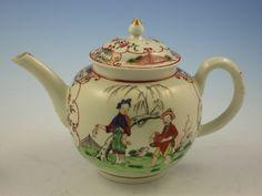 First Period Worcester Teapot & Cover c.1770 sold U.K. £880  2017