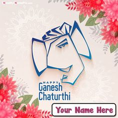 Write my name on best wishing for indian biggest festival happy ganesh chaturthi images download, free create your name pictures celebration vinayaka chaturthi 2020 greeting card photos, personalized special name writing latest beautiful god bal ganesha profile pic, whatsapp sending unique ganesh chaturthi status download option free. Ganesh Chaturthi Status, Happy Ganesh Chaturthi Wishes, Happy Ganesh Chaturthi Images, Create Name, Name Pictures, Wishes Images, Lord Ganesha, Vector Photo, Backgrounds Free