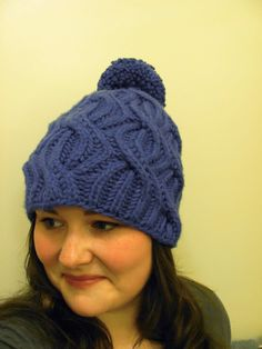 Knit Alone Together - powder eights (brioche cable)