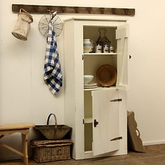 Boeren deeldeurkast: Landelijke meubels boerenkast deeldeur