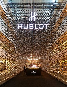 Hublot Popup Store | Architects: Asylum | Location: Paragon, Singapore | Photographs: courtesy of The Hour Glass