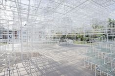 Sou Fujimoto for Serpentine Gallery