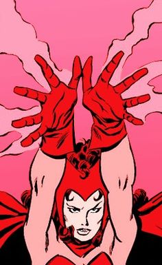 hex powers, Scarlet Witch