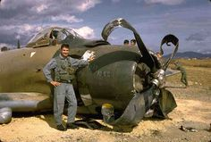 A big aircraft, rugged too. Brought many a pilot home with the a/c being written off but the pilot safe. Navy Aircraft, Ww2 Aircraft, Fighter Aircraft, Vietnam History, Vietnam War Photos, Military Jets, Military Aircraft, Douglas Aircraft, F-14 Tomcat