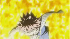 Fairy Tail - Natsu Dragon Force Roar gif