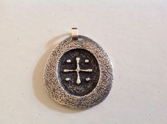Mint Rare HTF James Avery JA Large Christian Religious Cross Necklace Pendant…