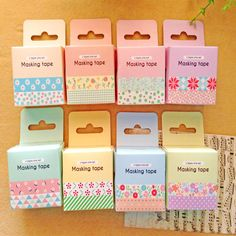 WASHI TAPES packaging - Google Search