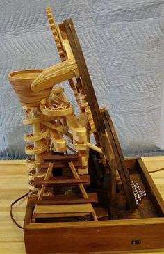 Ronald Walter's marble machine