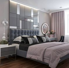 Classic bedroom decor - Fabulously Transform Bedroom Decor for Romantic Retreat Classic Bedroom Decor, Modern Luxury Bedroom, Luxury Bedroom Design, Bedroom Bed Design, Stylish Bedroom, Luxurious Bedrooms, Bedroom Ideas, Cozy Bedroom, Classic Bed Room