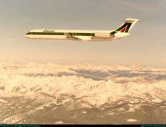 McDonnell Douglas MD-82 (DC-9-82) - Alitalia | Aviation Photo #0001047 | Airliners.net