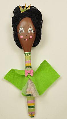 Hand made cute Disney princess spoon dolls by KATijA TOMiC