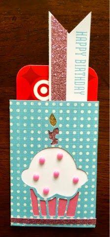 Scrappy Hour: CTMH Cricut Artfully Sent Gift Card Holder