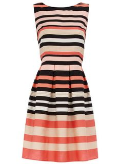 Pink stripe dress#Repin By:Pinterest++ for iPad#