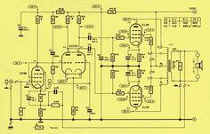 Elektor: Ten Watt Valve Amplifier With Just Four Valves