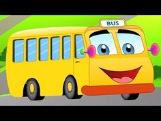 The wheels on the bus rhyme is a popular old English rhyme, that's been modified in many different versions with different vehicles. But the charm of the ori. Baby Songs, Baby Music, Kids Songs, Kids Nursery Rhymes, Rhymes For Kids, English Rhymes, Cute Babies, Baby Kids