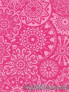 California Dreamin' JM30-Pink Fabric by Jenean Morrison