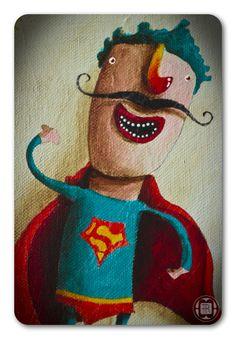 *NEWS!!! - SuperMan* by Robert Romanowicz, via Behance