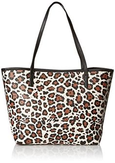 LUV BETSEY by Betsey Johnson Carrie Tote Shoulder Bag Leopard One Size ** Click image for more details.