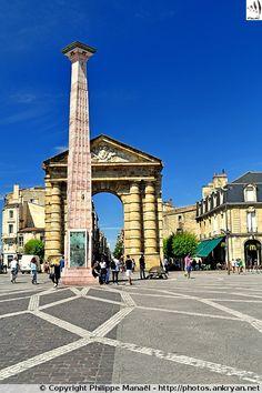 Place de la Victoire à Bordeaux (Aquitaine, Gironde)