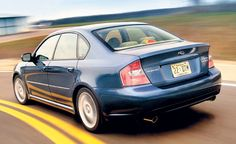 2005 Subaru Legacy 2.5GT Limited - Long-Term Road Test - Car Reviews - Car and Driver