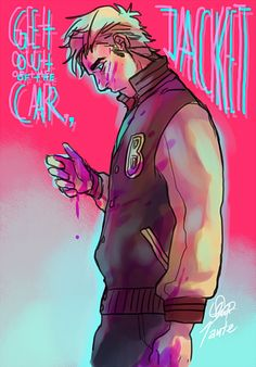 Hotline Miami by Kaktus-chan on deviantART