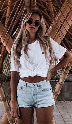 Women fashion summer holiday outfits, summer outfits for teens beach, outfi Florida Outfits, Hawaii Outfits, Hawaii Clothes, Florida Fashion, Beach Fashion, Summer Holiday Outfits, Summer Outfits Women, Spring Outfits, Summer Outfits For Vacation