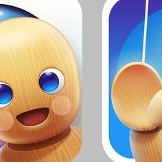 Cute icon for creative children's app by Ampeross