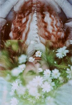 Ophelia-like double exposure (By marjam diederich  Marjam, via Flickr.)