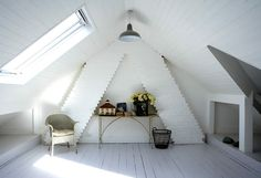 8 Prosperous Clever Tips: Attic Lighting Book attic design small.Attic Living Roof Window attic space dream homes. Loft Conversion, Attic Flooring, Bedroom Design, Bedroom Loft, Loft Room, Loft Spaces
