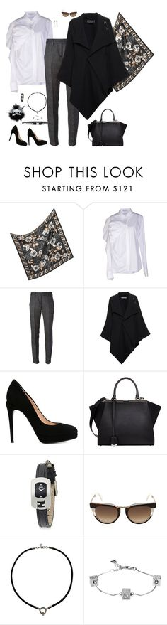 """Working-chic"" by riquee ❤ liked on Polyvore featuring Fendi, Louis Vuitton, Viktor & Rolf, Roland Mouret and ANTONINI"