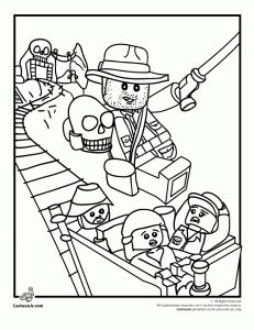 Lego Coloring Pages | Cartoon Jr.