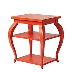 Vera side table- poppy
