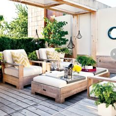 Inspiring Outdoor Seating