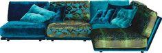 Diese Wohnlandschaft wird der neue Mittelpunkt in Ihrem Wohnzimmer! Ihre elegante Couch von BRETZ überzeugt durch ihr puristisches Design mit einem Textilbezug in Multicolor. Die chicen, runden Füße in Schwarz runden das attraktive Gesamtbild ab. Das wird Ihren Gästen gefallen: Für einen besonders hohen Sitzkomfort ist das Sofa mit einer Polsterung aus Kaltschaum ausgestattet. Sie können dieses Sofa in unseren Filialen auch seitenverkehrt oder in einer anderen Farb…