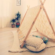 DIY Tent #sleepover #slumberparty Ask gordon to make 3 of these! so fun and I think easy..lol