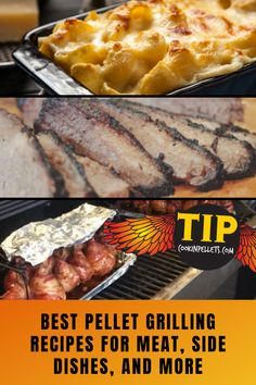 How To Pellet Grill Everything!  Want to know the best recipes and tips for pellet grilling your favorite foods? From meats and briskets to pork and ribs, side dishes like pasta and vegetables, and everything in between, here are our favorite pellet grill recipes!  #pelletgrill #pelletgrilling #BBQ #pelletgrillrecipes #BBQrecipes Grilling Tips, Grilling Recipes, Great Recipes, Favorite Recipes, Pellet Grill Recipes, Good Food, Yummy Food, Brisket, Bbq Grill