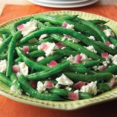Green Bean and Feta Salad from ATHENOS