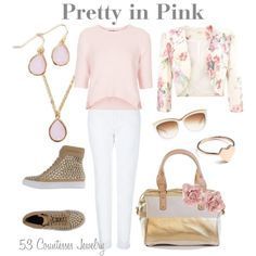 """""""Pretty in Pink"""" by countess-flower on Polyvore"""