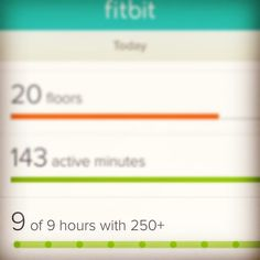 Check this out #firsttimeever #fitbit @fitbiteurope I managed to move 250 steps every hour from 9-5 today. It's not easy!