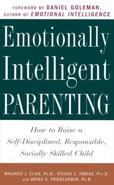 Emotionally Intelligent Parenting: How to Raise a Self-Disciplined, Responsible, Socially Skilled Child by Maurice J. Elias Ph.D. et al., http://www.amazon.com/dp/0609804839/ref=cm_sw_r_pi_dp_x_qN3Fzb7EVBEMT